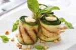 roasted courgette rolls | Роллы из запеченных кабачков