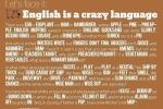 "Насколько ""безумен"" английский?"